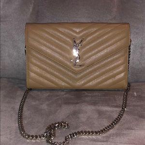 YSL wallet purse on chain
